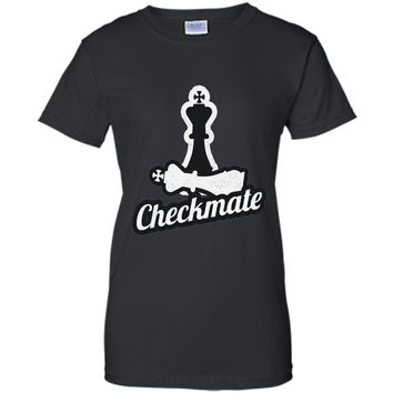 Awesome Chess Checkmate T-Shirt Saying Eat Sleep Check Mate