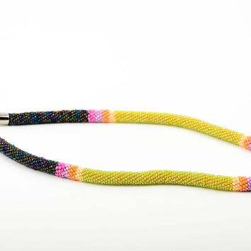 Homemade jewelry cord necklace beaded jewellery designer accessories for women