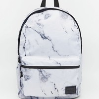 ASOS Backpack in Marble Print