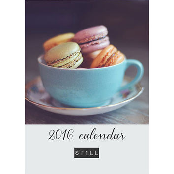 2016 Calendar, Still, Photography Calendar, Desk Calendar, Photo Calendar, 5x7, Still Life, Loose Pages, Fine Art Prints