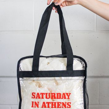 Saturday in Athens Stadium Bag