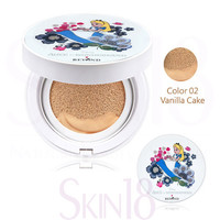 Beyond Disney ®Alice in Glow Cushion Limited Set SPF50+/PA+++ (02 Vanilla Cake) (set+refill)  *exp.date 08/18