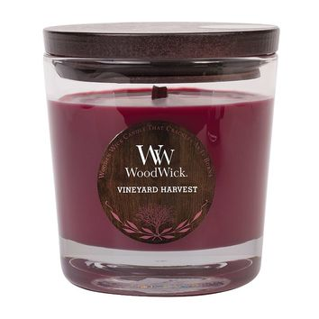 WoodWick Vineyard Harvest 10.5-oz. Jar Candle (Purple)