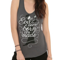 Once Upon A Time Evil Is Made Girls Tank Top