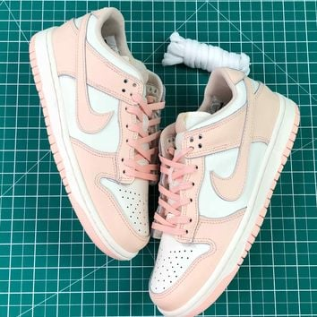 Nike Wmns Dunk Low Sail Sunset Tint Pink Sport Womne's Shoes - Best Online Sale