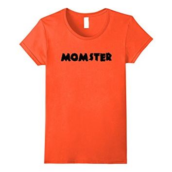 Momster Halloween Shirt, Funny Womens Scary Spooky Costume