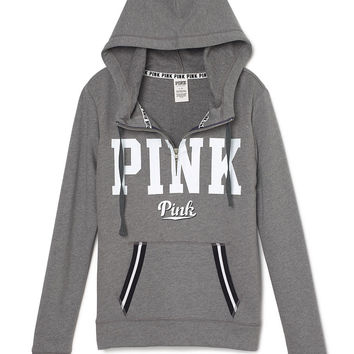 Perfect Half-Zip Hoodie - PINK - from VS PINK | Quick Saves