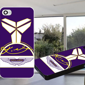 Kobe Bryant, Aston Martin, Nike Case for iPhone 4,iPhone 4S,iPhone 5,iPhone 5S,iPhone 5C,Samsung Galaxy S2 / S3 / S4