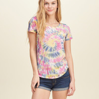 Must-Have Dyed Pocket T-Shirt