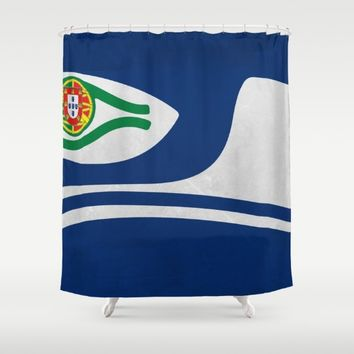 Portuguese Hawks culture Shower Curtain by Tony Silveira