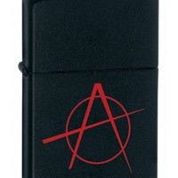 Zippo Anarchy Black Matte Lighter