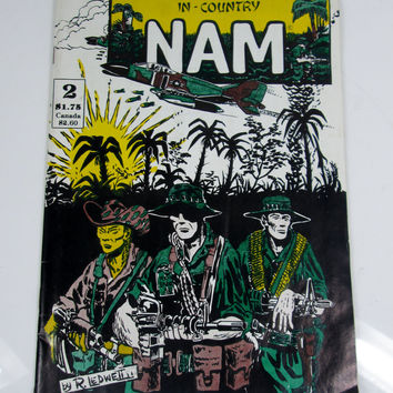 Vintage In Country Nam #2 Comic Book (1986)