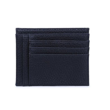 Slide In Black Wallet