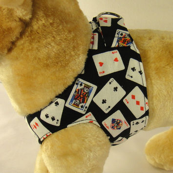 Playing Cards Step In Harness