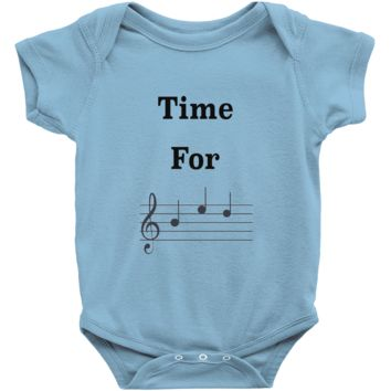 Music Baby Clothes - Time For Bed