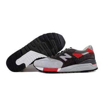 New Balance 998 Grey/Red Age Of Exploration M998CPL