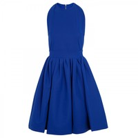 Marnie cut-out stretch crepe dress