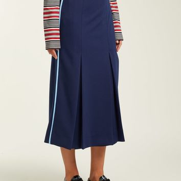 Wrap-front technical jersey skirt | Prada | MATCHESFASHION.COM US