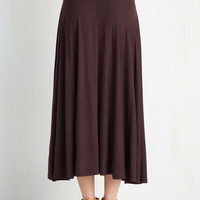 Travel Writing Workshop Skirt in Plum | Mod Retro Vintage Skirts | ModCloth.com