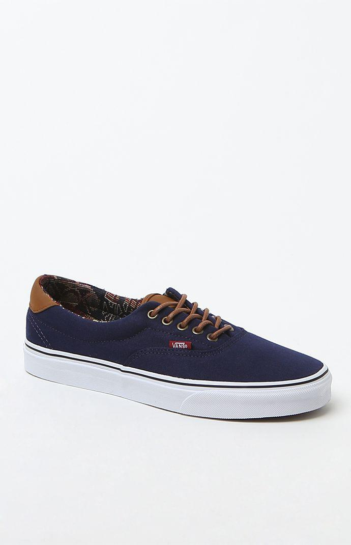 a5128c2ed70ca5 Vans Era 59 C L Navy   Geo Shoes - Mens Shoes - Blue