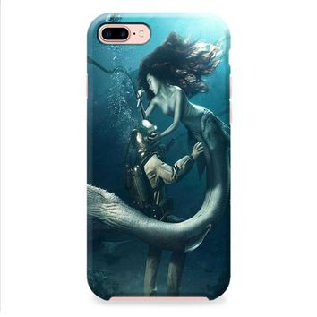DIVER AND THE MERMAID iPhone 8 | iPhone 8 Plus Case