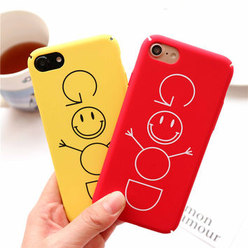 Iphone 6/6s Stylish On Sale Hot Deal Cute Strong Character Iphone Matte Couple Phone Case [10688562887]