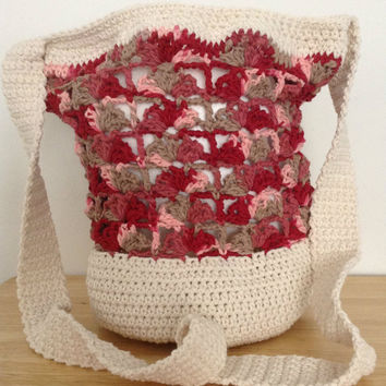 Red Flames Lace Bag