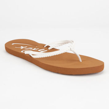 Roxy Cabo Womens Sandals White  In Sizes
