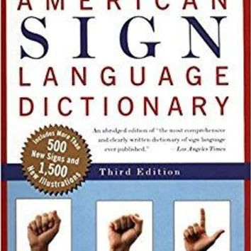 American Sign Language Dictionary REV SUB