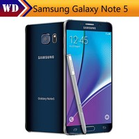 Samsung Galaxy Note 5 N920A LTE Cell phones Quad Core 4GB RAM 32GB ROM 5.7 inches 1440 x 2560 pixels 16MP Camera