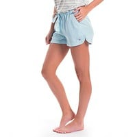 Cassie Shorts in Crystal Blue by The Southern Shirt Co. - FINAL SALE