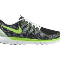 The Nike Free 5.0 (Boston 2014) Men's Running Shoe.