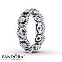 Pandora Ring CZ Her Majesty Sterling Silver