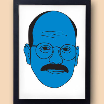 Arrested Development poster - Tobias Funke  - I'm afraid I just blue myself - David Cross Fünke