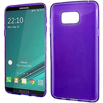 Samsung Galaxy Note 5 Phone Case,  Frosted Matte TPU Flexible Thin