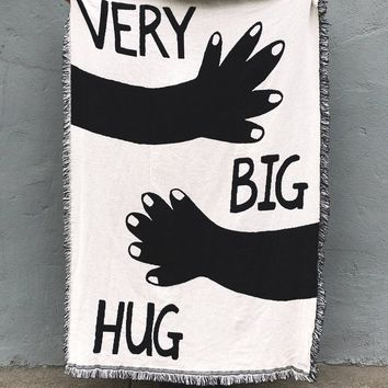 Very Big Hug Woven Throw Blanket
