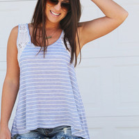 Stripes On Stripes Tank – The Rage