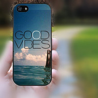 iphone 5c case,iphone 5 case,iphone 5s case,iphone 5s cases,iphone 5 cases,iphone 5c case,cute iphone 5s case--GOOD VIBES,in plastic.