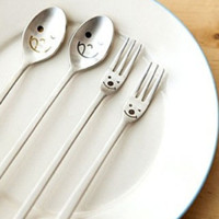lip smackin' good - the spoon & fork set