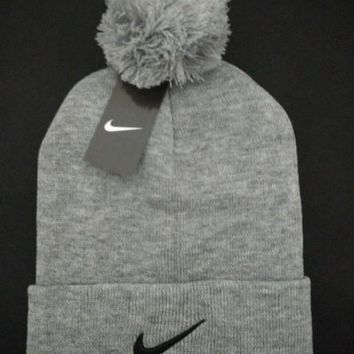 Nike Women Men Embroidery Beanies Winter Warm Knit Hat Cap-10