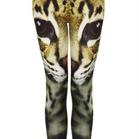 Petite Cat Face Leggings - New In This Week - New In - Topshop USA