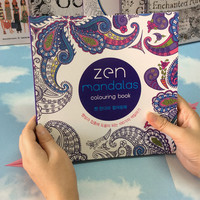Mandala Coloring Book for Adults to Relieve Stress