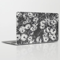 Flower Fields Vintage Laptop & iPad Skin by Loredana | Society6