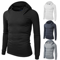 New Designer Men's Fashion Pullover Hoodie