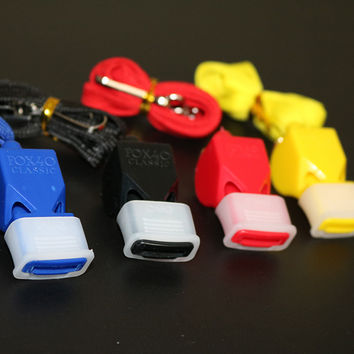 Whistle Plastic FOX 40 Soccer Football Basketball Hockey Baseball Sports Classic Referee Whistle Survival Outdoor