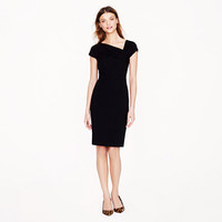 Origami dress in wool crepe - dresses - Women's wear-to-work shop - J.Crew