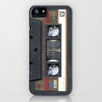 Cassette Gold iPhone & iPod Case by Diego Tirigall