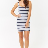 Striped Bodycon Tank Dress