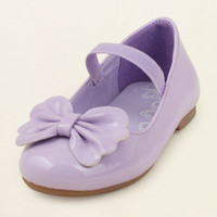 baby girl - shoes - bow ballet flat | Children's Clothing | Kids Clothes | The Children's Place
