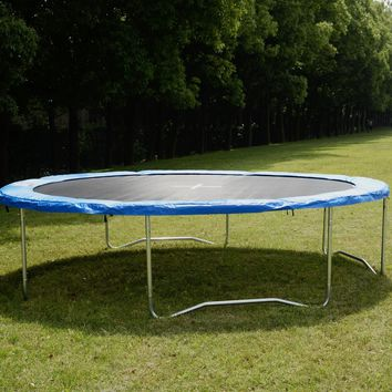 Safety Round Frame Blue Pad Spring Pad Replacement Cover for 14FT Trampoline New